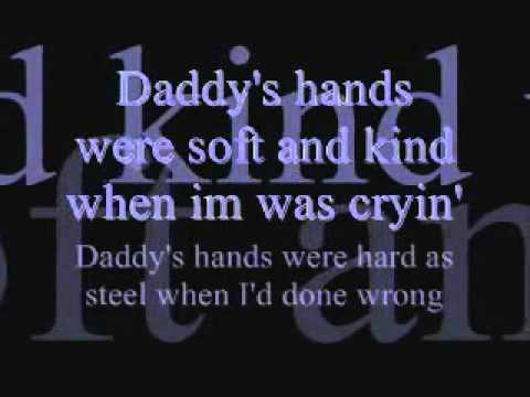 Holly Dunn Daddy's Hands [Lyrcis]
