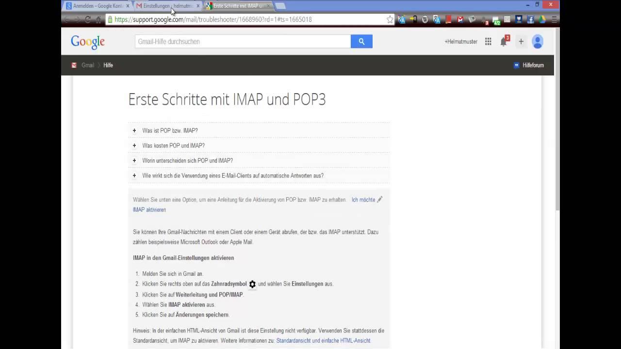 Microsoft Outlook: Erstellen eines E-Mail Accounts und Integration ...