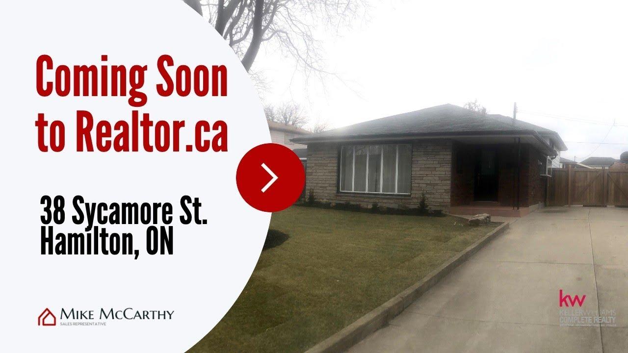 Exclusive - 38 Sycamore Street Hamilton Ontario   Hamilton Real Estate    Mike McCarthy Realty