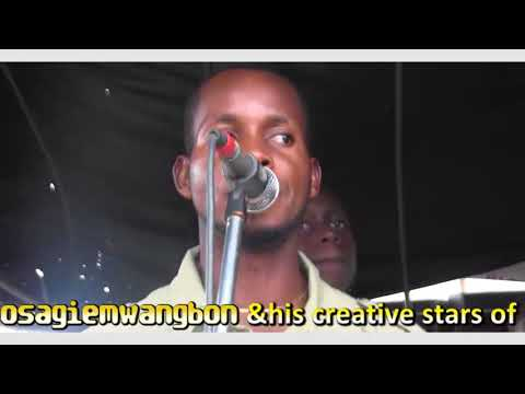 Osagiemwangbon & his creative stars of Africa (a.k.a. De music prince) stage performers 2018
