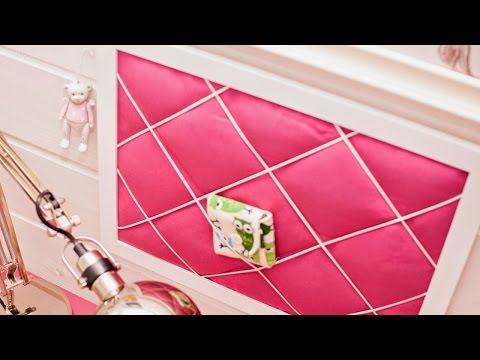 Make an Easy Fabric Note Board - DIY Home - Guidecentral