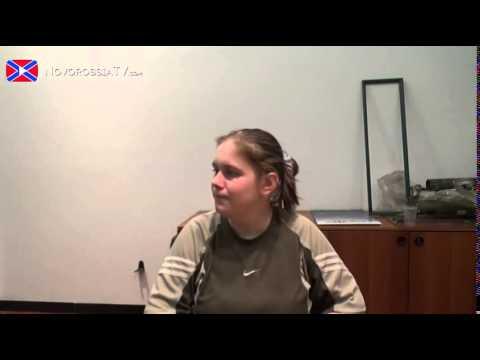 Maria Koleda, a Russian journalist who spent five months in Kiev government prison [DE, ENG subs]