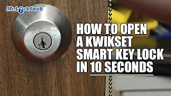 How to Open a Kwikset Smart Key Lock in 10 seconds Video by Mr. Locksmith