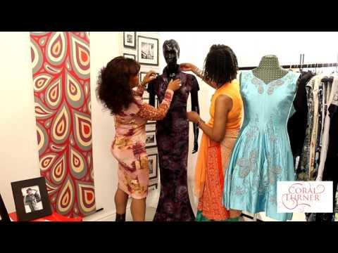 Quality Clothing -  One-of-a-kind with Coral Turner