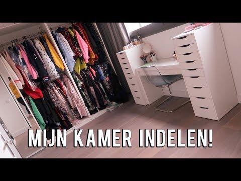 Mijn volledige beauty kleding en office kamer indelen! ❤  | Beautygloss