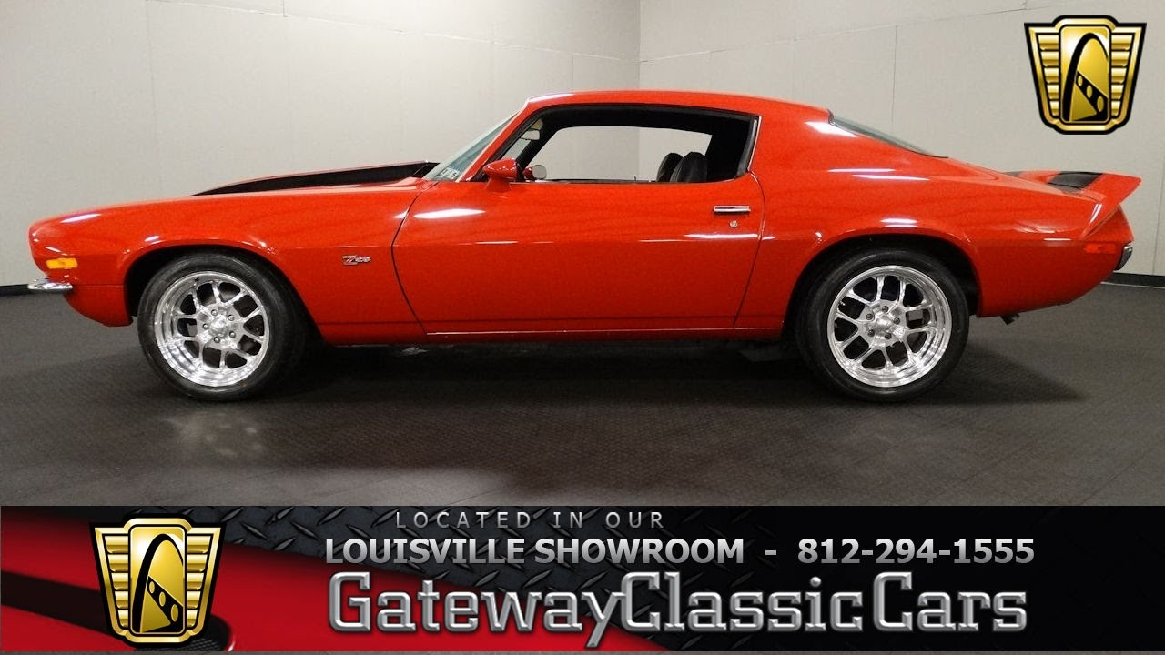 1972 chevrolet camaro z28 louisville showroom stock 1538 youtube. Black Bedroom Furniture Sets. Home Design Ideas