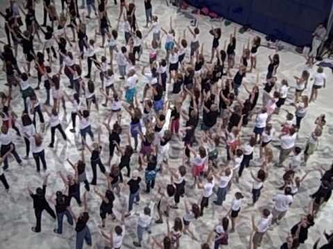 Flashmob At Mall Of America 8 22 10 Youtube
