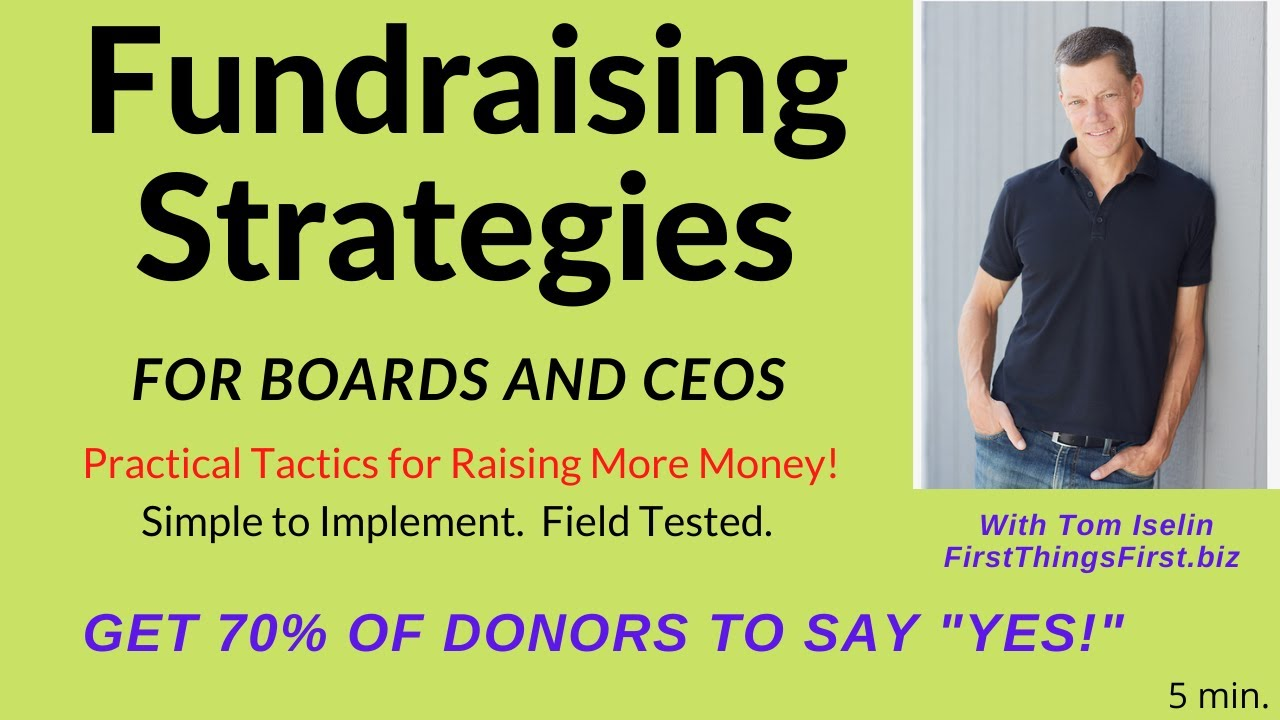 """Here's How to Get 70% of your Donors to Say, """"YES!"""""""