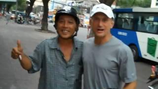 Steve Maxwell: Saigon motorbike taxi ride