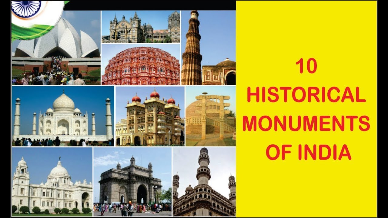 historical places and monuments of india