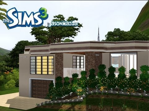 The sims 3 house designs artists rendering youtube for Sims 3 home designs