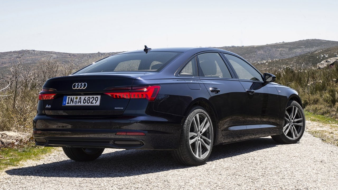 Audi A7 3 0 T >> 2019 Audi A6 (Firmament Blue) – Exterior, Interior, Driving Scenes - YouTube