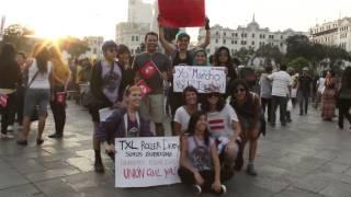 Peru: Rally in favor of same-sex civil union law #UnionCivilYa