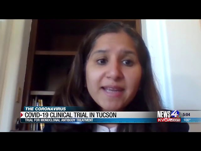 AZ Clinical Trials opens COVID-19 antibody treatment trial - KVOA 4 news