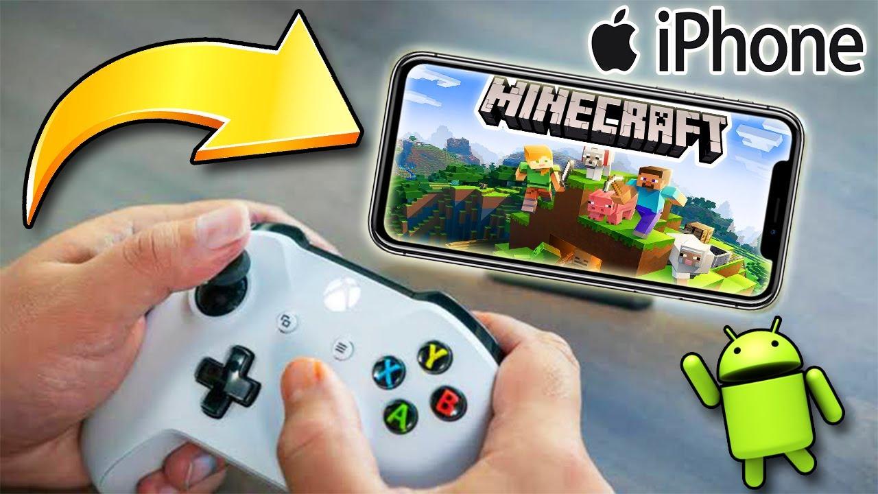 ¿Como jugar MINECRAFT con Control PS4 y Xbox One?