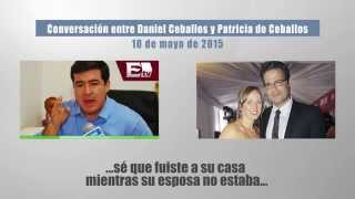 Patricia de Ceballos le montó cachos a Daniel Ceballos con Luis Chataing