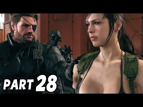 Let's Play Metal Gear Solid 5 Phantom Pain Gameplay German Deutsch #28 - Quiet als Partner ?