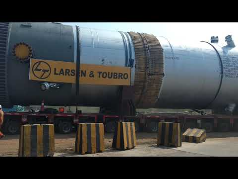 Reactor Transportation By AllCargo In Chennai (673 MT)