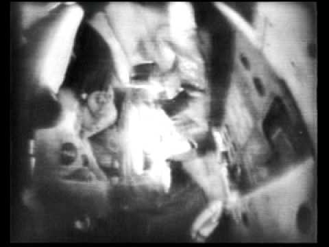 Apollo 8 - First Television Broadcast Half-Way To The Moon (December 22, 1968)