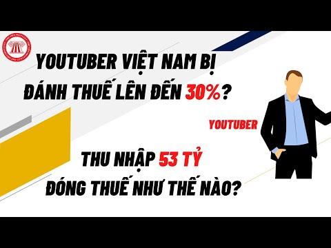 Kiếm Tiền Từ Youtube, Đóng Thuế Ra Sao?