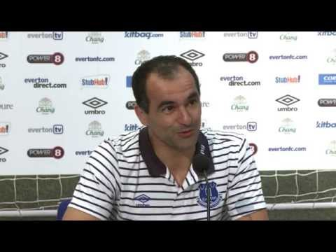 Roberto Martinez Leicester City Press Conference