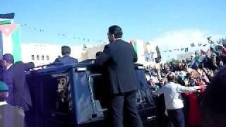 king Abdullah II in hashemite university