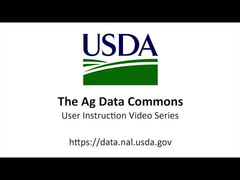 ADC 19 - Data Dictionaries on the Ag Data Commons