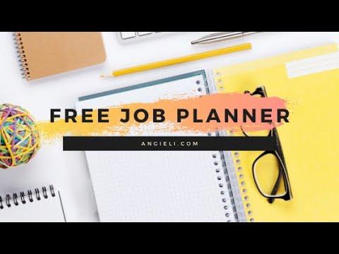 My Job Planner | TECH TUESDAY WEEK 13