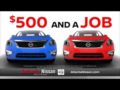 Sutherlin Nissan Mall Of Georgia April Promotion