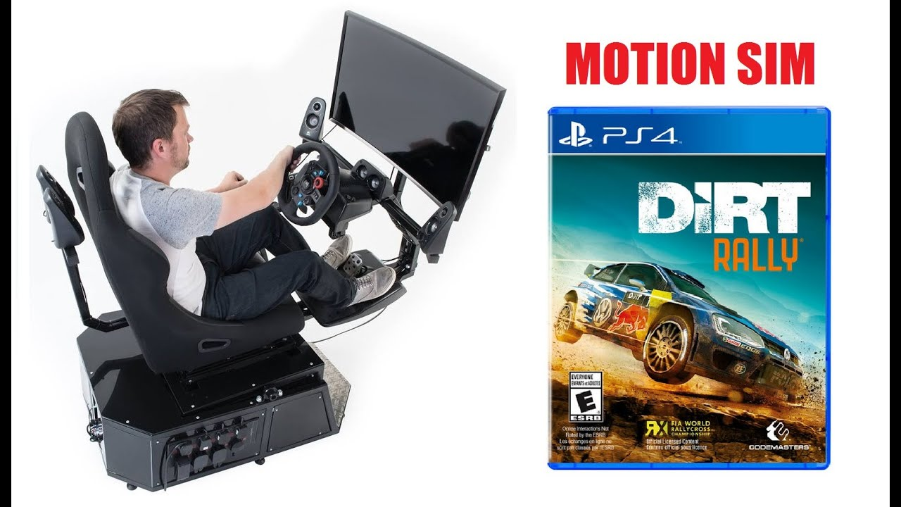 Xbox One, PS4, PC & PS3 Motion Simulator available - Sim Racing Rigs