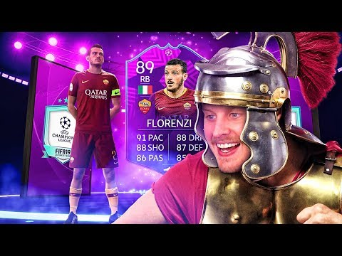 WHAT ARE THESE STATS?! 89 UCL MOMENTS FLORENZI PLAYER REVIEW! FIFA 19 Ultimate Team