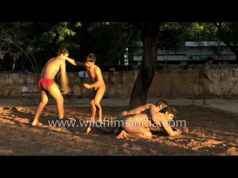 Kushti: The art of Indian mud wrestling
