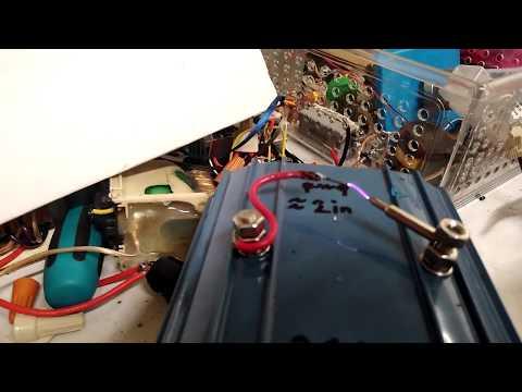 Plasma Speaker Using LM386