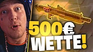 500 Euro für eine Goldene Waffe | Fortnite | SpontanaBlack