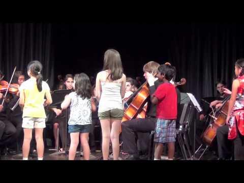 Eine Kleine Nachtmusik (Menuetto) - Elite Strings Youth Orchestra