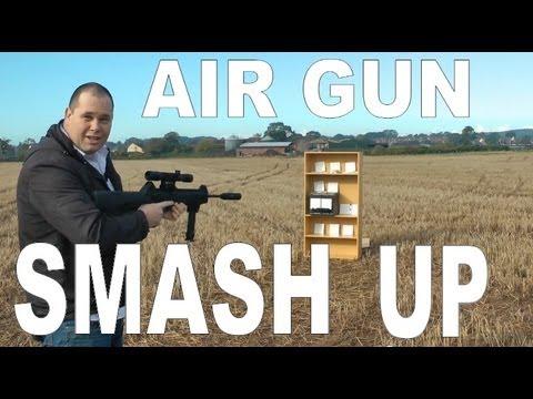 BERETTA CX4 STORM: Air Gun Smash Up