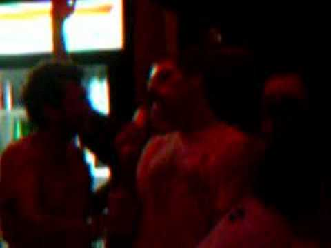karaoke in the Marshall Islands- Tom's 23rd Birthday