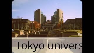 Universities of tokyo (part 1)