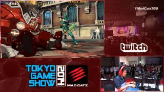 Mad Catz at Tokyo Game Show 2014 - GUILTY GEAR Xrd -SIGN-
