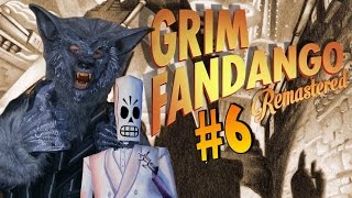 Grim Fandango Remastered (PS4) Part 6 - Dont Sing Glottis