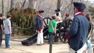 Cannon Demonstration at Yorktown, Virginia Part 1 of 2