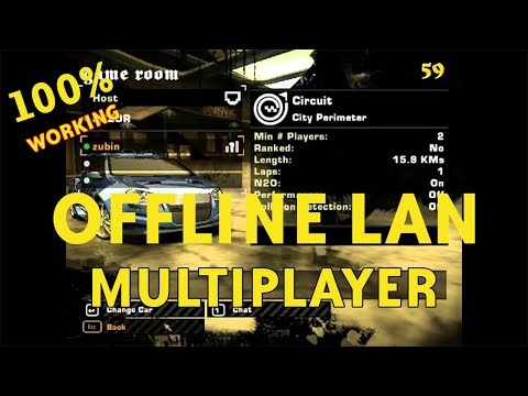How To Connect Nfs Most Wanted Through Lan (Multiplayer Offline) 100% Working