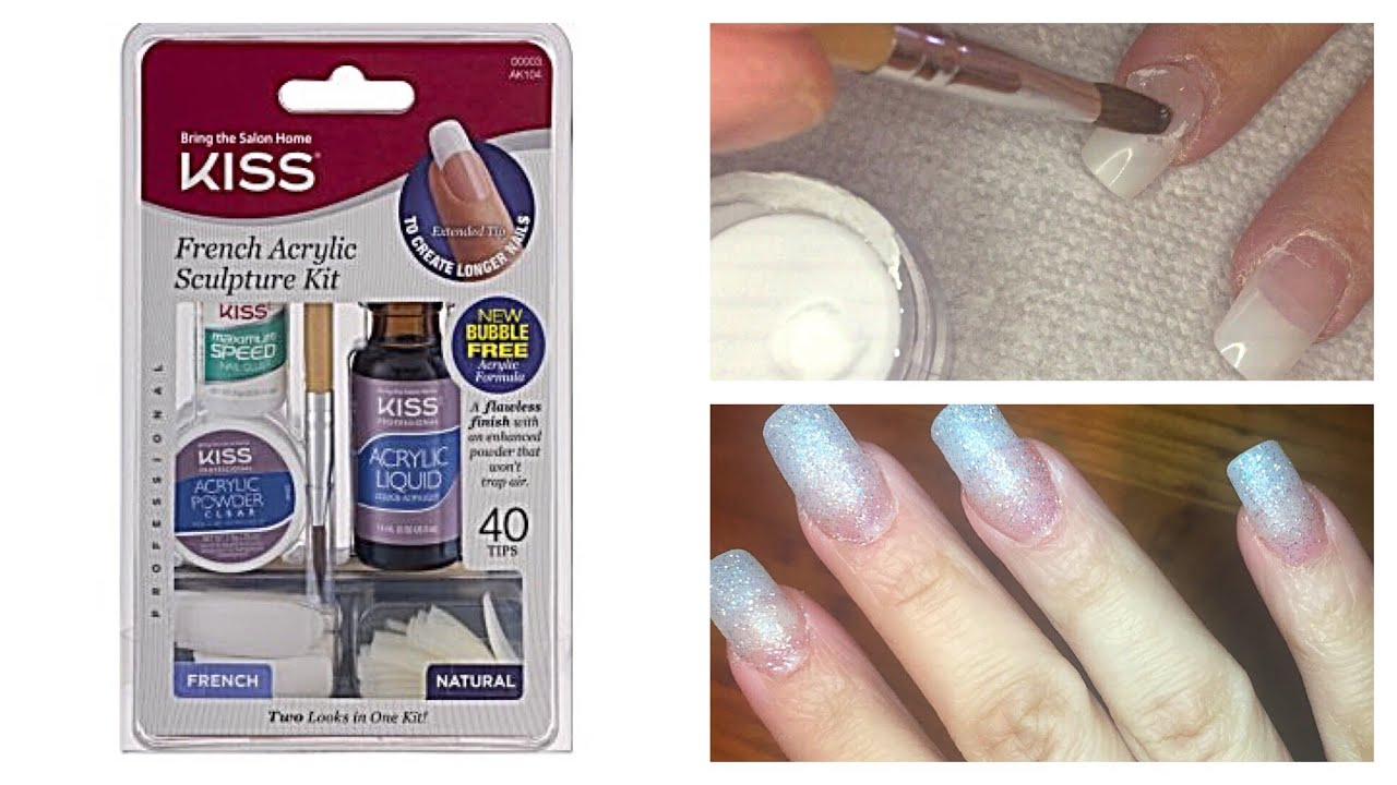 Diy Kiss Nails Acrylic For Beginners