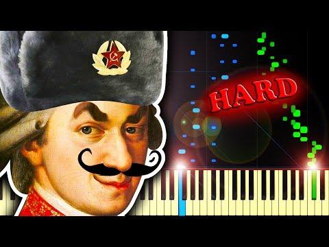 IF MOZART WAS RUSSIAN?? - Piano Tutorial