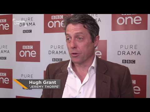 Hugh Grants talk A Very English Scandal & what he found hardest to do | London Live