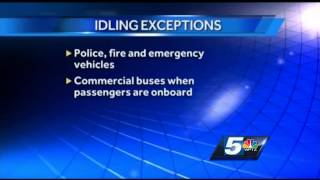 Idling law kicks in Monday