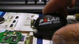 Polar W.I.N.D Sensor Battery Replacement