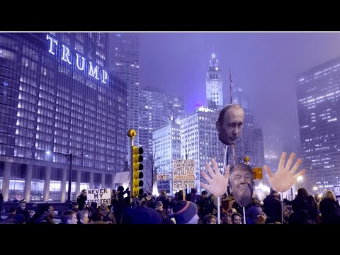 Chicago celebrates Donald Trump's inauguration as president