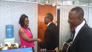Romantic office Surprise with Abel chungu musuka