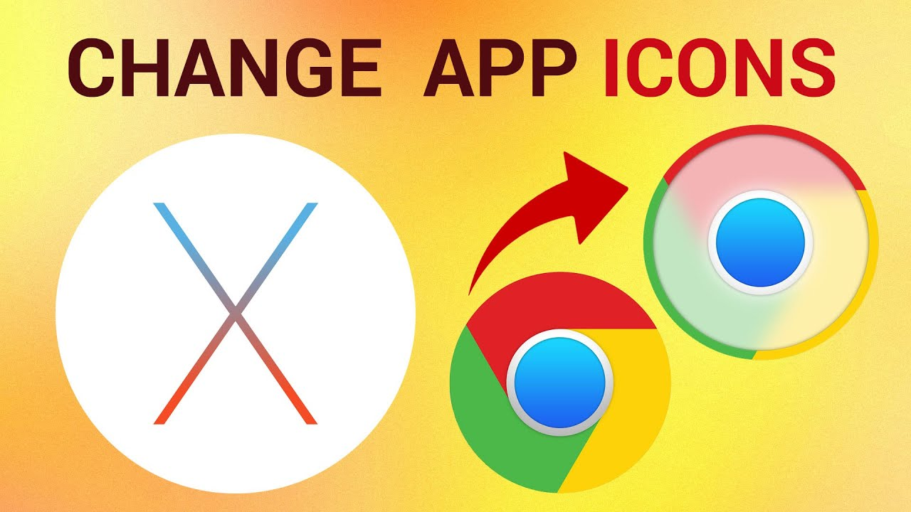 How to Change Application Icons on Mac